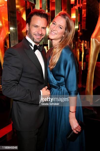 Stephan Luca and his girlfriend Lisa Triltsch during the 71tst Bambi Awards at Festspielhaus BadenBaden on November 21 2019 in BadenBaden Germany