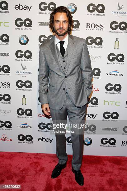 Stephan Luca arrives at the GQ Men of the Year Award 2014 at Komische Oper on November 6 2014 in Berlin Germany