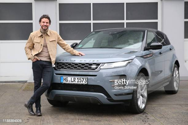 Stephan Luca at the new Range Rover Evoque prior to he presentation at Berlin Bridge Studios on March 28, 2019 in Berlin, Germany.