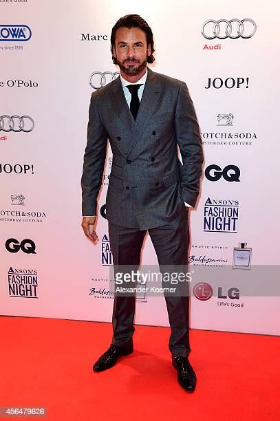 Stephan Luca attends the Anson's Fashion Night on October 1 2014 in Hamburg Germany