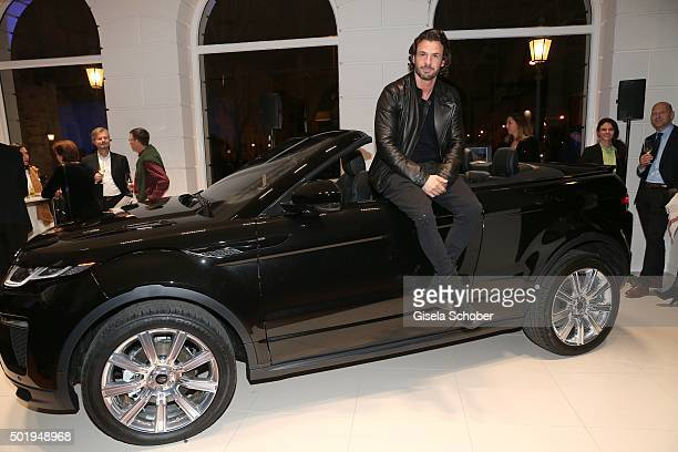 Stephan Luca during the opening of the Jaguar Land Rover Boutique on December 18 2015 in Munich Germany