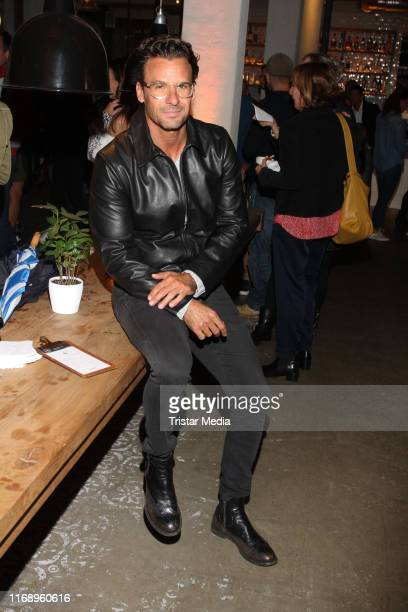 Stephan Luca during the Pizza Opening Henry likes Pizza at Barefood Deli of Til Schweiger on September 17 2019 in Hamburg Germany
