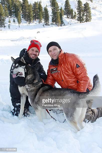 Stephan Luca Und Bernhard Bettermann Beim Tirol Cross Mountain 2011 In Kühtai