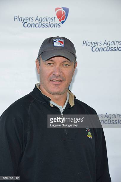 Stephan Matteau attends Players Against Concussions at Pelham Country Club on October 6 2014 in Pelham Manor New York