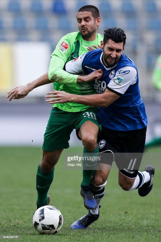 DSC Arminia Bielefeld v FC Erzgebirge Aue - Second Bundesliga