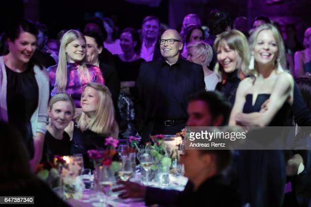 Stephan Seidel-Jarleton smiles during the Glammy Award 2017 on March 2, 2017 in Munich, Germany.