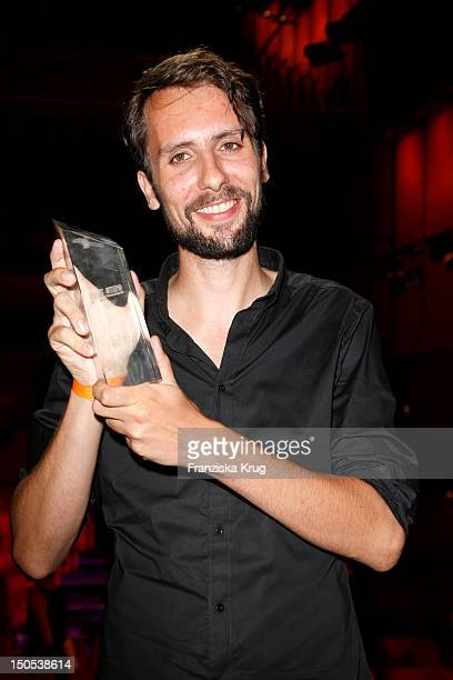Stephan Strube attends the 'First Step Awards 2012' in the Stage Theater Potsdamer Platz on August 20, 2012 in Berlin, Germany.