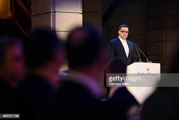 Stephan Vogel attends the ADC Night Of Honour on February 26 2015 in Berlin Germany