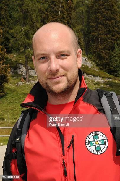 """Stephan Zinner, Porträt,ZDF-Serie """"Die Bergwacht"""", Ramsau am Dachstein, Steiermark, Österreich, Europa, Gebirge, Alm, Uniform, Kletterer, Halbkörper,..."""