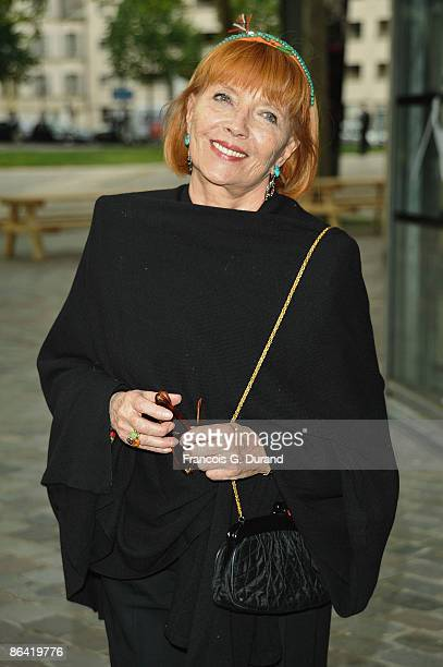 Stephane Audran attends Gala Champetre Evening at in La Cinematheque Francaise on May 5 2009 in Paris France