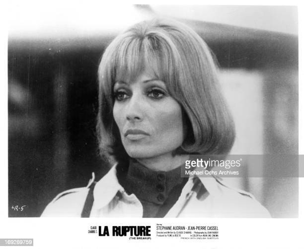 Stephane Audran in a scene from the film 'The Breach' 1970