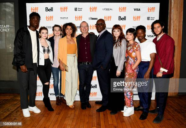 Stephane Bak Eleanor WorthingtonCox Josh Wiggins Jess Salguerio IMDB founder and CEO Col Needham Cameron Bailey Michaela Kurimsky Devery Jacobs Lamar...