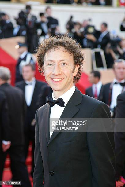 Stephane Bern arrives at the premiere of 'Zodiac' during the 60th Cannes Film Festival