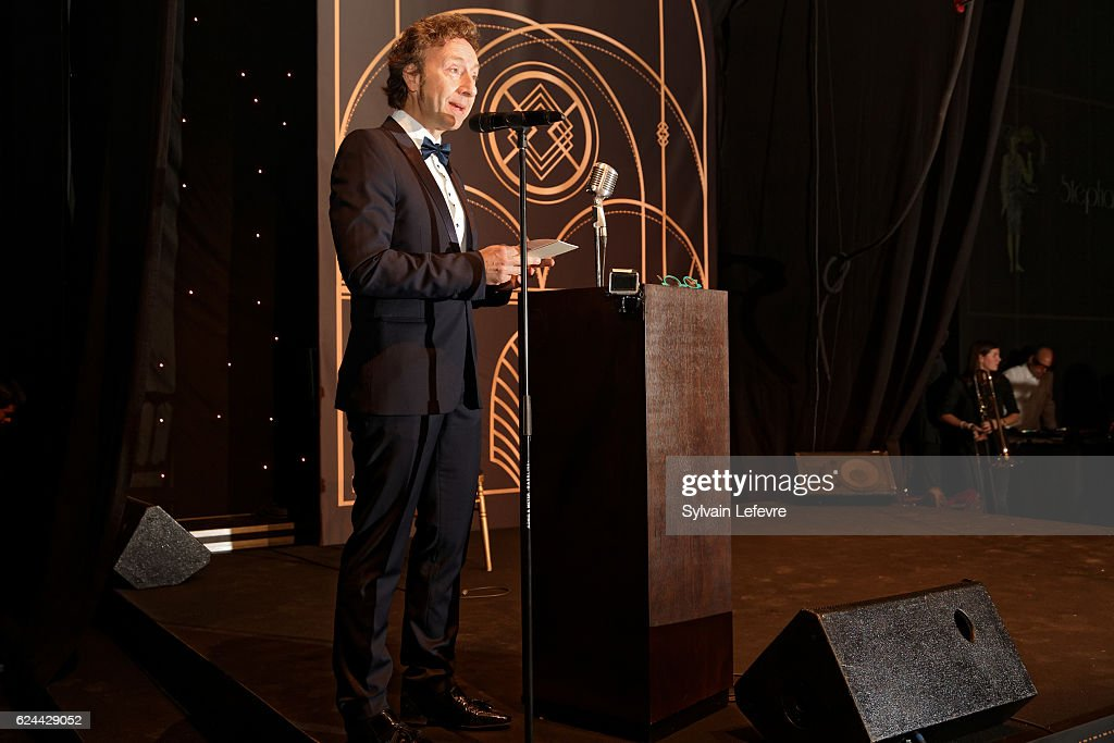Stephane Bern attends 20th Luxembourg Red Cross Ball Gala on November 19, 2016 in Luxembourg, Luxembourg.