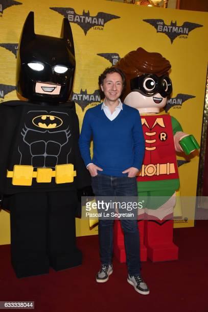 Stephane Bern attends Lego Batman Premiere at Le Grand Rex on February 1 2017 in Paris France