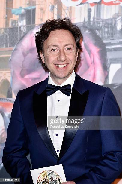Stephane Bern attends The 62nd Rose Ball To Benefit The Princess Grace Foundation at Sporting MonteCarlo on March 19 2016 in MonteCarlo Monaco