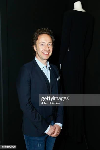 Stephane Bern attends the 'Balenciaga L'Oeuvre En Noir' Exhibition as part of the Paris Fashion Week Womenswear Fall/Winter 2017/2018 on March 6 2017...