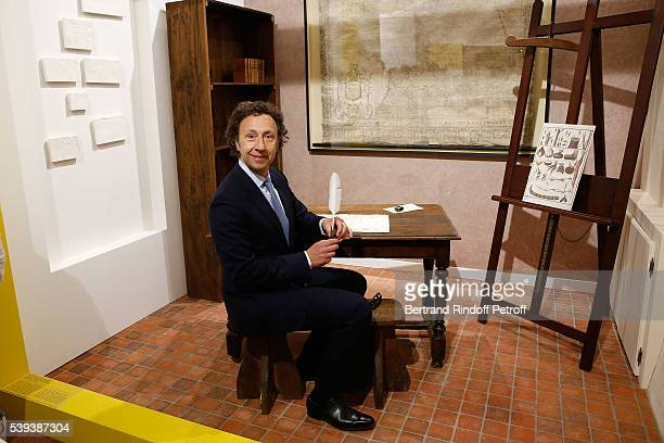 Stephane Bern attends the 'College Royal et Militaire de ThironGardais' Exhibition Rooms Inauguration on June 10 2016 in Thiron Gardais France