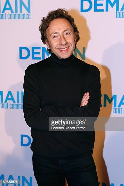 Stephane Bern attends the 'Demain Tout Commence' Paris Premiere at Cinema Le Grand Rex on November 28 2016 in Paris France