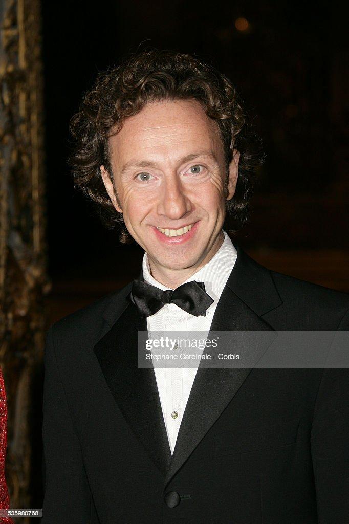 Stephane Bern attends the gala for the 'Fondation de l'Enfance' held in Versailles castle.