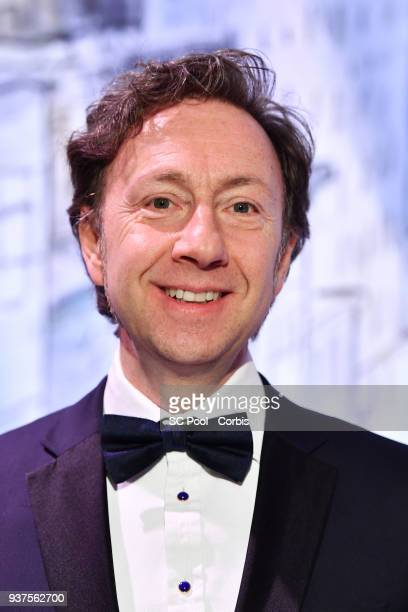 Stephane Bern attends the Rose Ball 2018 To Benefit The Princess Grace Foundation at Sporting MonteCarlo on March 24 2018 in MonteCarlo Monaco