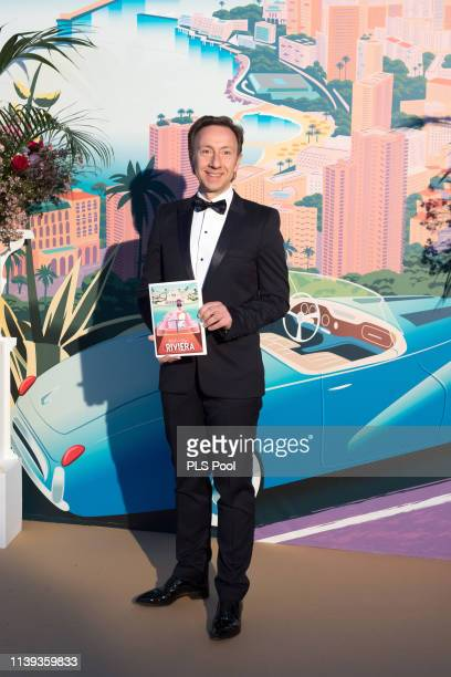 Stephane Bern attends the Rose Ball 2019 to benefit the Princess Grace Foundation on March 30 2019 in Monaco Monaco