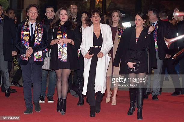 Stephane Bern Camille Gottlieb Princess Stephanie of Monaco and Pauline Ducruet attend the 41th MonteCarlo International Circus Festival on January...