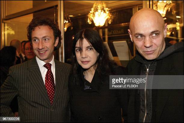 Stephane Bern Carole Laure and husband