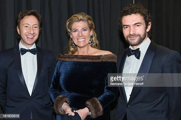 Stephane Bern French journalist and author Princess Lea of Belgium acting as honorary chairperson of the event and Cyril Vergniol attend the 30th...