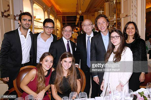 Stephane Bern his father Louis Bern his brother Armand Bern with his wife Jocelyne Bern his Nephiews Nathaniel Bern with Audrey Louzoum Rebecca Bern...