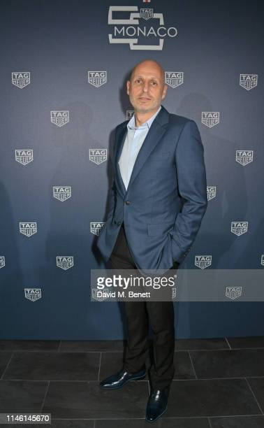 Stephane Bianchi CEO of the LVMH Watchmaking Division and CEO of TAG Heuer attends an intimate dinner hosted by TAG Heuer kicking off the Monaco...