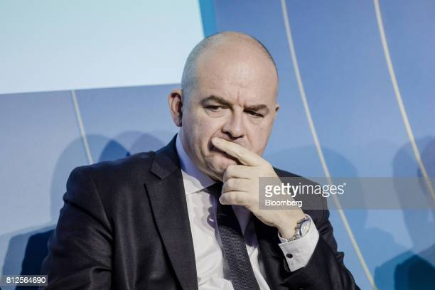 Stephane Boujnah chief executive officer of Euronext NV pauses during the Europlace forum in Paris France on Tuesday July 11 2017 Leaders of big...