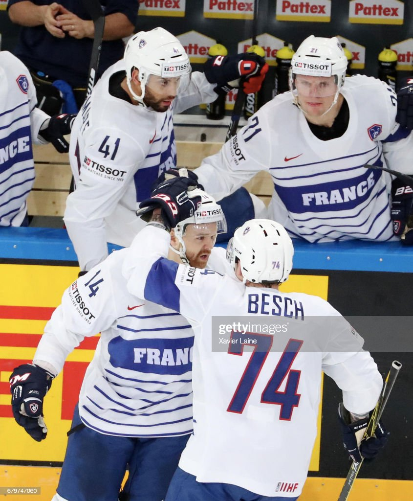 Norway v France - 2017 IIHF Ice Hockey World Championship : News Photo