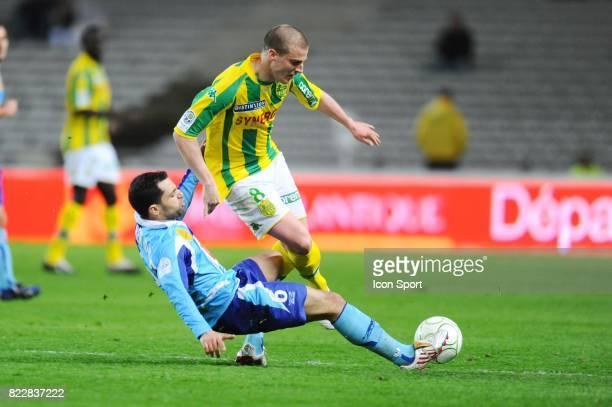 Stephane DARBION / Jamel AIT BEN IDIR Nantes / Le Havre 31eme journee de Ligue 2 Stade de la Beaujoire Nantes