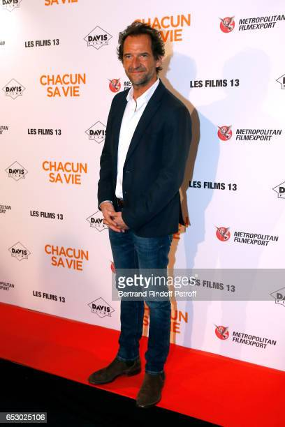 Stephane de Groodt attends the 'Chacun sa vie' Paris Premiere at Cinema UGC Normandie on March 13 2017 in Paris France