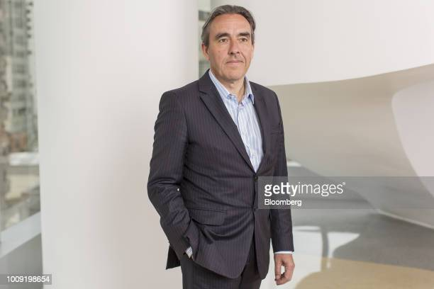 Stephane Engelhard executive director of institutional relations communication and sustainability at Carrefour Brasil stands for a photograph...
