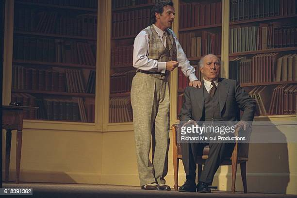 Stephane Freiss and Michel Piccoli