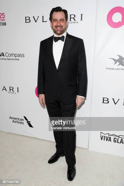 Stephane Gerschel attends Elton John AIDS Foundation 26th Annual Academy Awards Viewing Party at The City of West Hollywood Park on March 4 2018 in...
