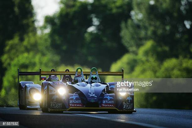 Stephane Gregoire of France drives the Rollcentre Racing PescaroloJudd during qualifying for the 76th running of the Le Mans 24 Hour race at the...