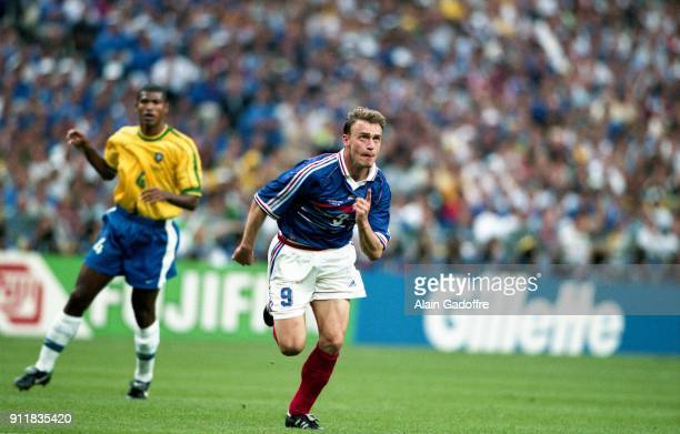 Stephane GUIVARCH of France during the Soccer World Cup Final between Brazil and France on July 12 1998 in Paris Saint Denis, France. Photo : Alain...