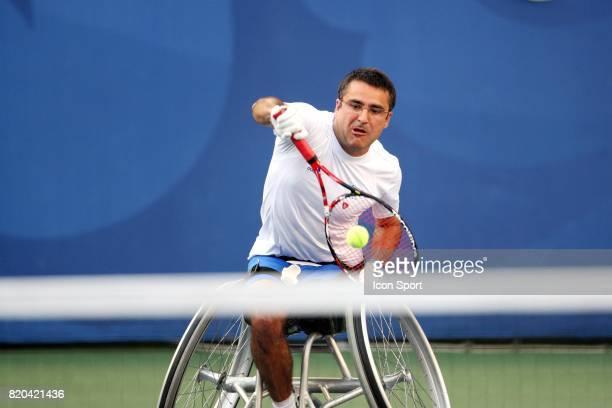 Stephane HOUDET Finale Double Tennis Jeux Paralympiques 2008 Pekin