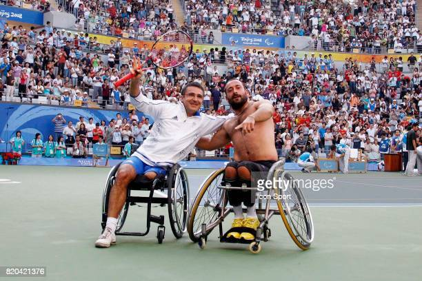 Stephane HOUDET / Mickael JEREMIASZ Finale Double Tennis Jeux Paralympiques 2008 Pekin