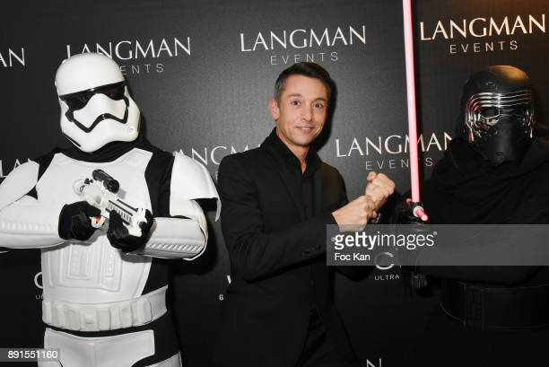 Stephane Jobert attends the Star Wars Party at Le Saint Fiacre on December 12 2017 in Paris France