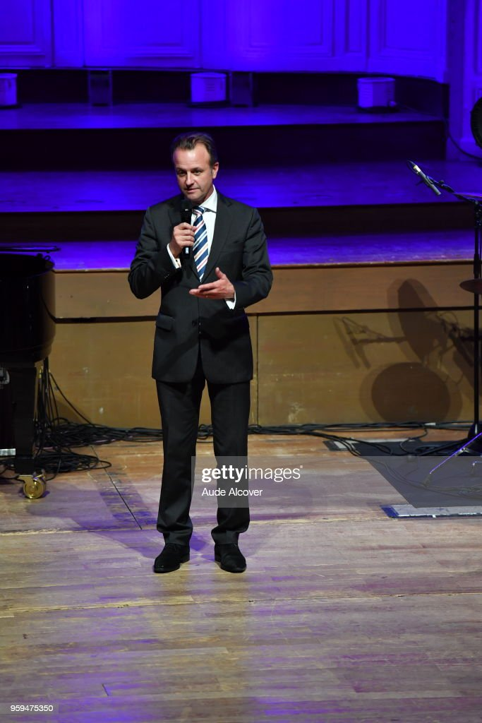 Stephane Labous (Brand Marketing Communication director of Jeep) during the Trophy Award LNB Basketball at Salle Gaveau on May 16, 2018 in Paris, France.