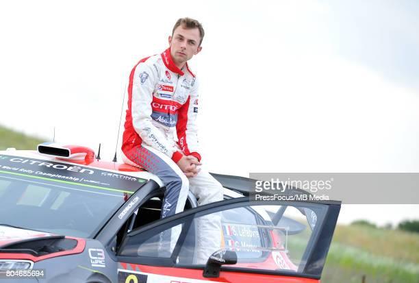 Stephane Lefebvre FRA Citroen Total Abu Dhabi WRT during the WRC Orlen 74 Rally Poland on June 29 2017 in Mikolajki Poland