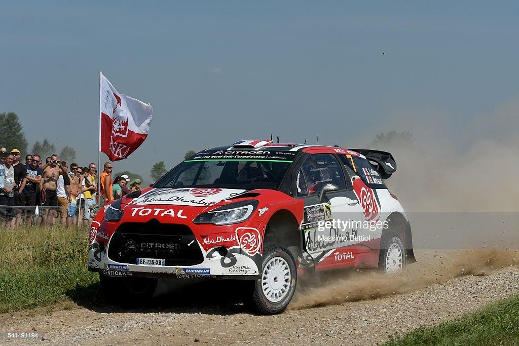 FIA World Rally Championship Poland - Day Two : News Photo