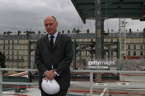 Stephane Martin In Charge Of Construction Of The Museum Of Primal Arts Stéphane MARTIN chargé de mener à bien la construction du musée des Arts...