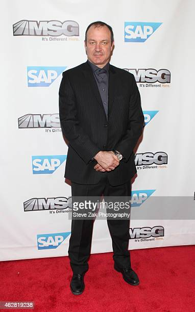 Stephane Matteau attends MSG Networks Original Programming Party at Madison Square Garden on February 5 2015 in New York City