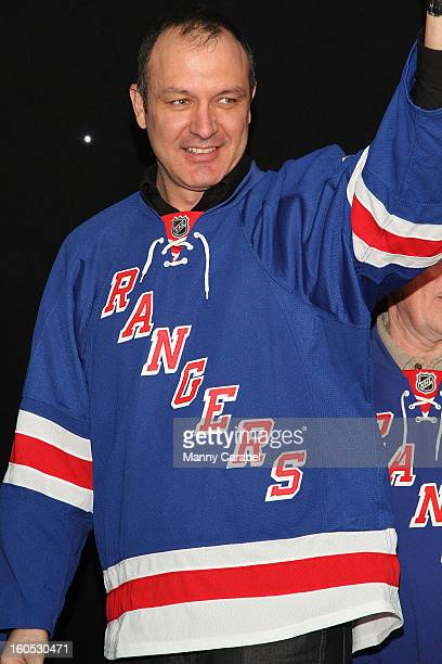 Stephane Matteau attends The New York Rangers 19th Annual Skate With The Greats Event Benefiting The Ronald McDonald House New York at The Rink at...