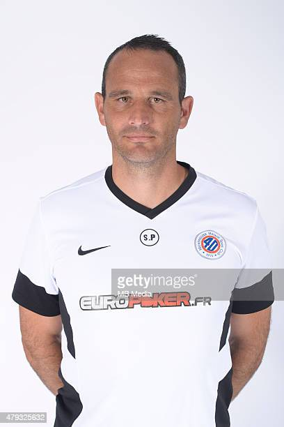Stephane PAGANELLI Portraits officiels Montpellier Ligue 1 2014/2015 Icon Sport/MB Media